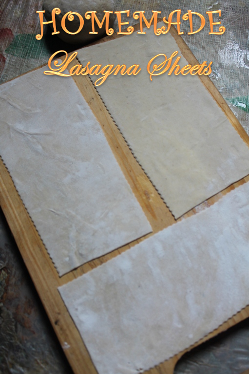 Egg pasta sheets recipe