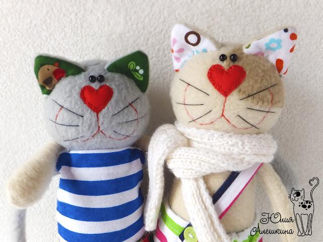 Коты хулиганы - Серёга и Лёха