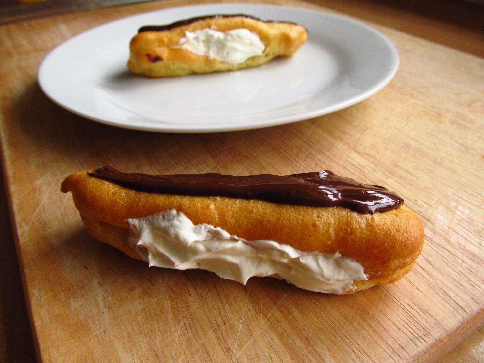 Good Food, Shared: Mini Chocolate Eclairs