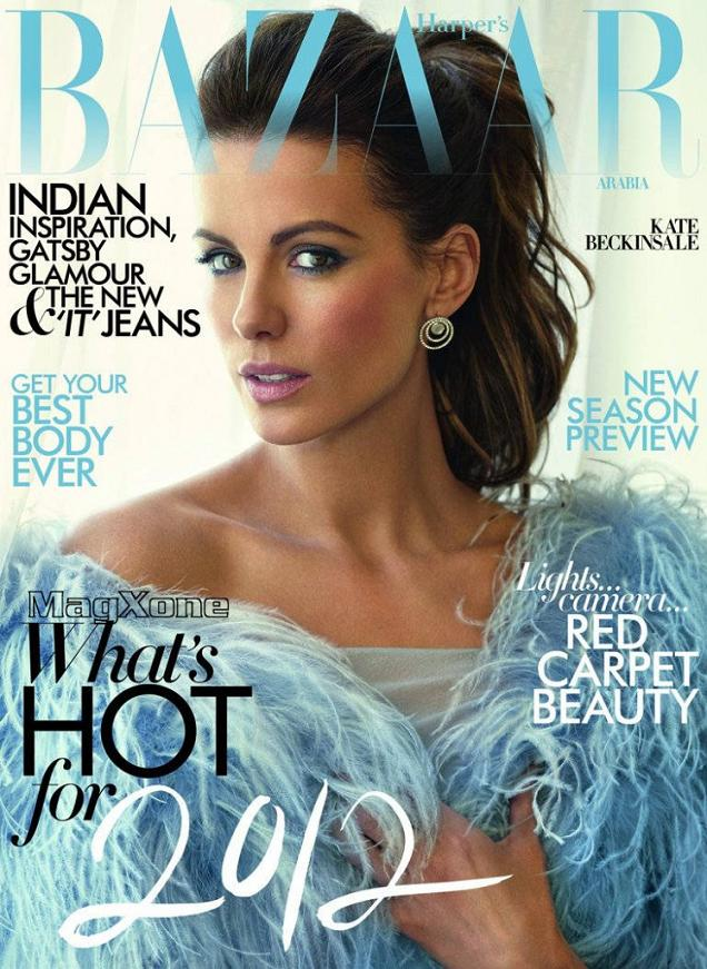 Pearl Harbour actress Kate Beckinsale poses on the cover and a photoshoot ...