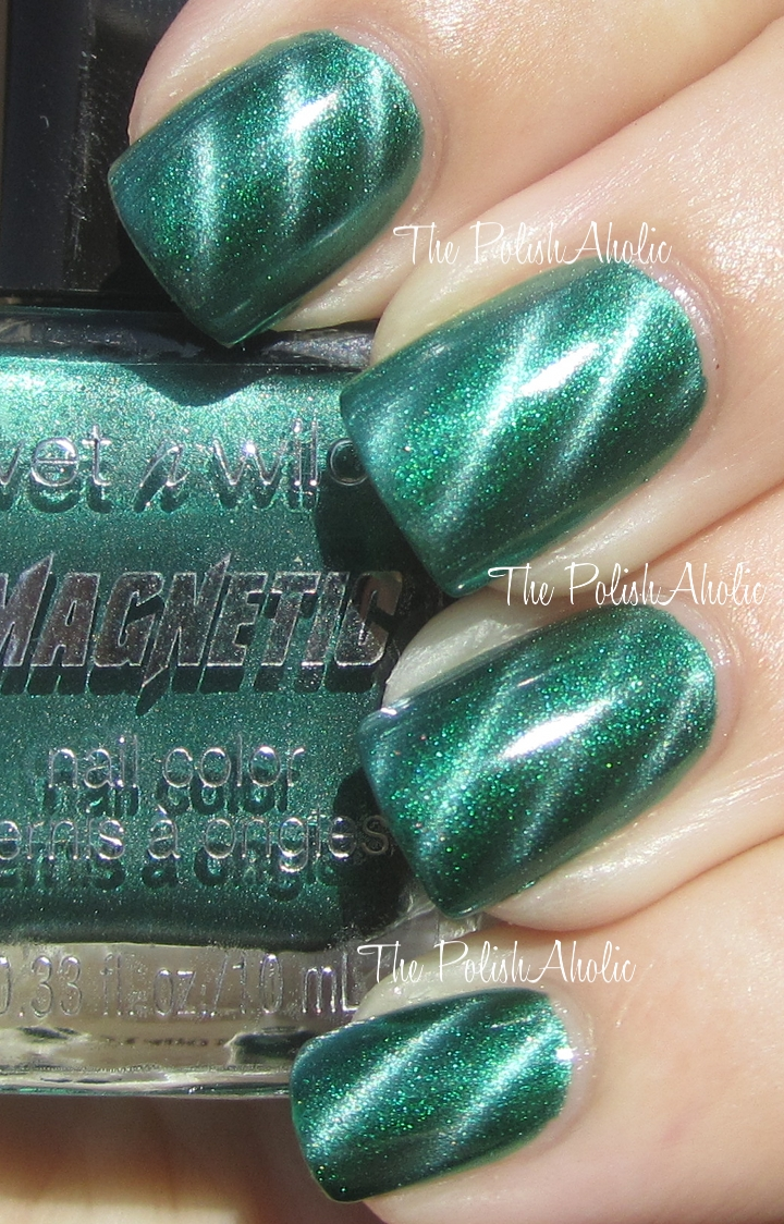 The PolishAholic: Wet \'n WIld Magnetic: Drawn Together By Force