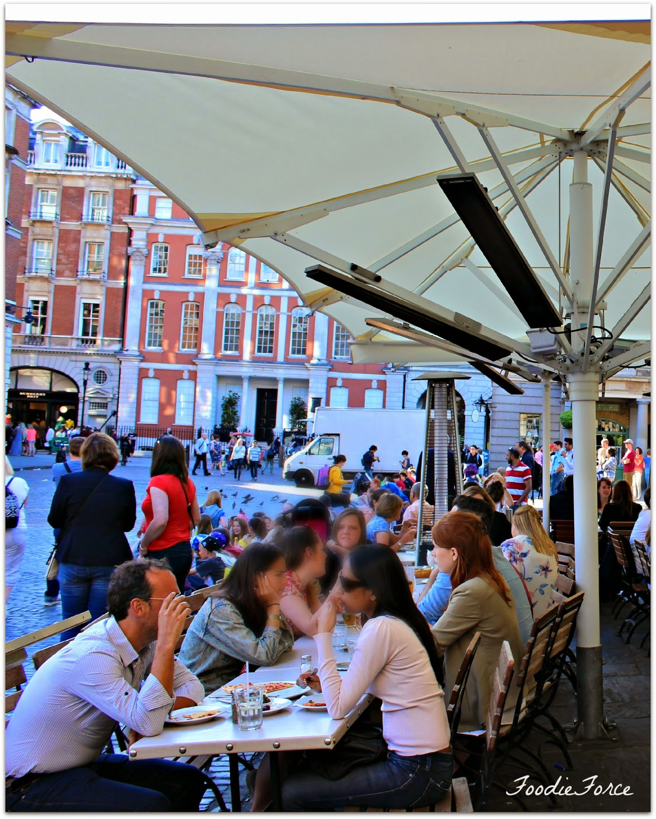 Alfresco London eating