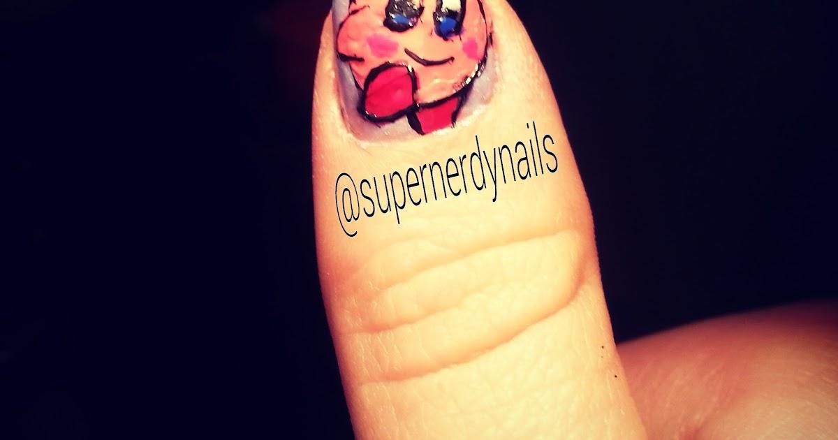 Super Nerdy Nails: Nail Tutorial: Kirby