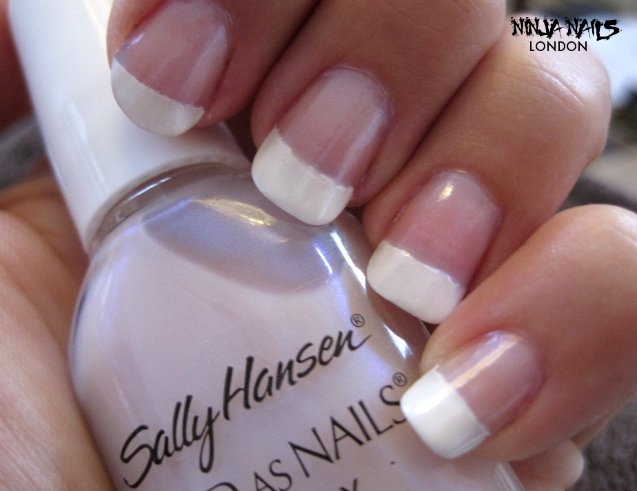 Ninja Nails London: Sally Hansen french manicure kit in Sheerly Opal