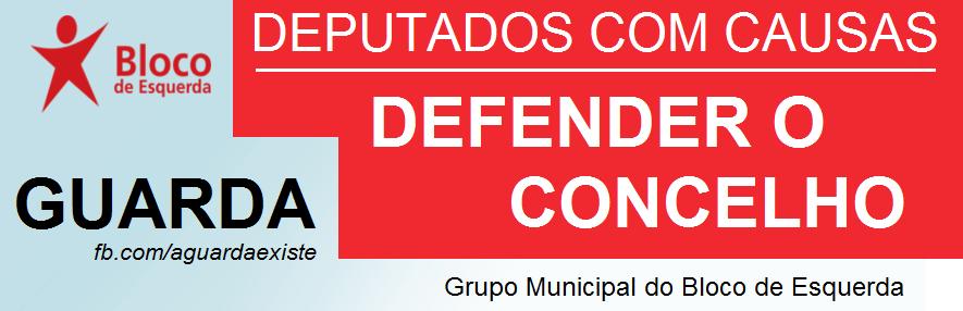 Grupo Municipal do BE - Assembleia Municipal - Guarda