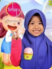 hijab jilbab anak lucu cantik murah berkualitas