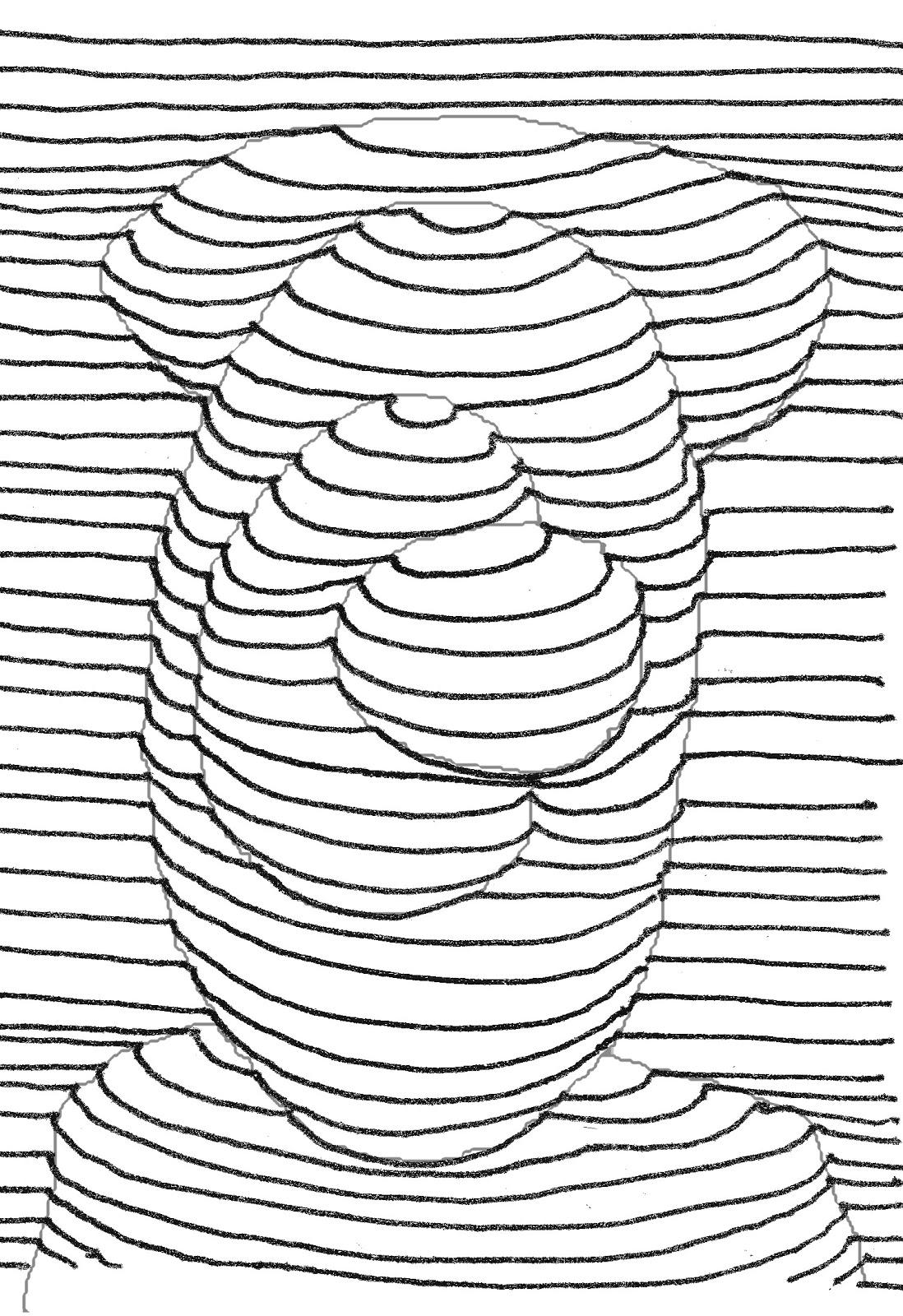 de dibujo artstico y color Generacin de volumen mediante el uso