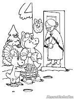 Barney Dan Bop Berkunjung Kerumah Nenek