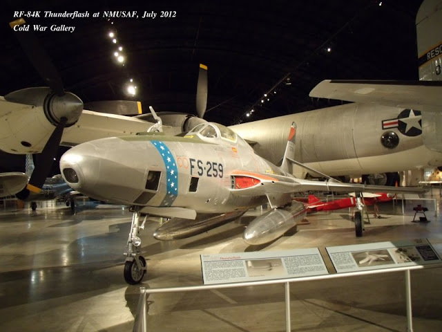 RF-84K Thunderflash FICON at Dayton