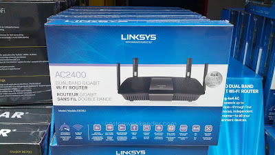 Linksys AC2400 Wireless Dual Band Gigabit Wi-Fi Router for fast internet connection