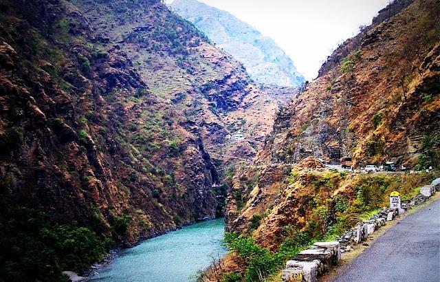Road trip from NTPC Koldam to Manali