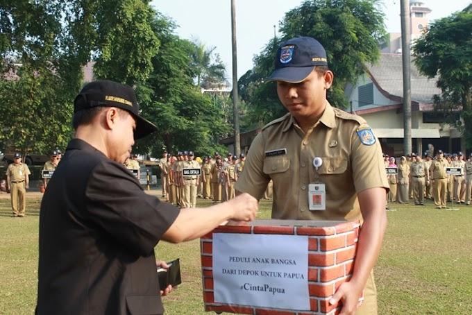 PNS Depok Galang Dana Peduli Papua, Terkumpul Rp.41 Juta