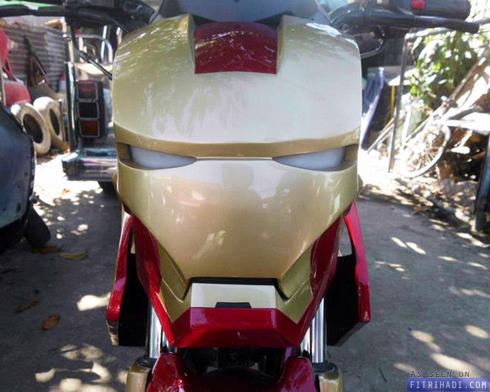gambar modifikasi yamaha fz150 iron man