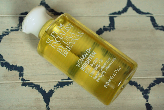 Una Brennan Superfacialist Vitamin C+ Skin Renew Cleansing Oil