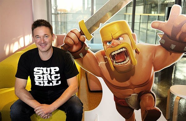 ceo supercell