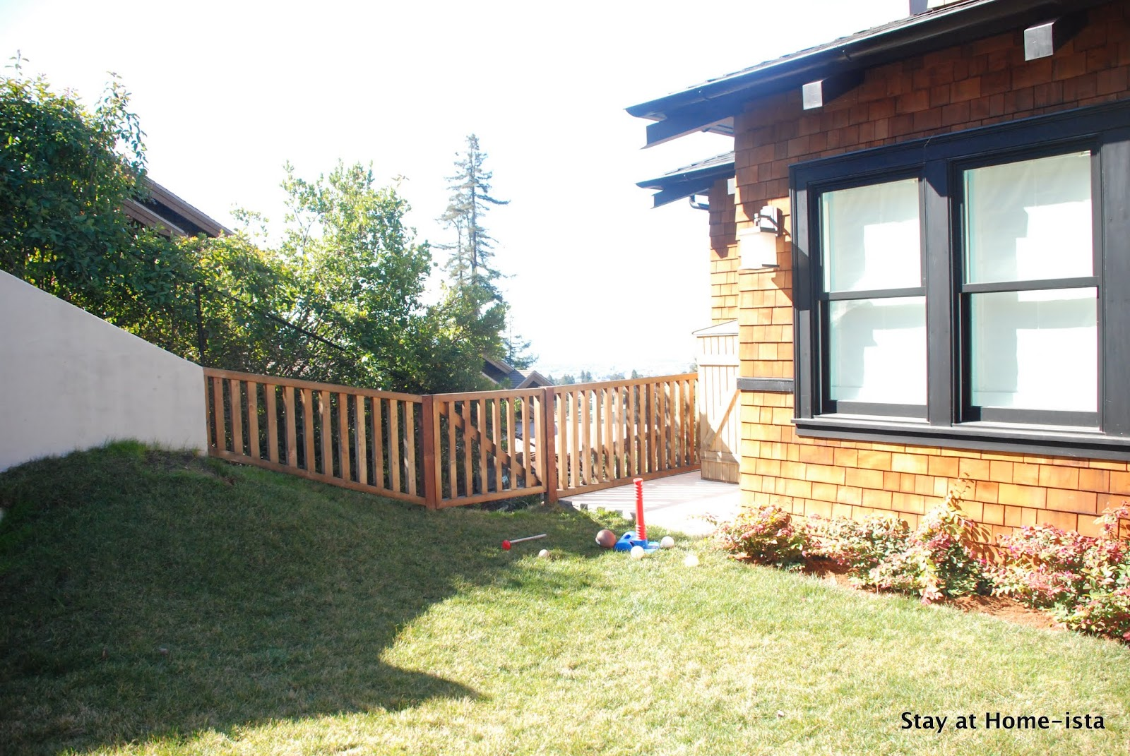 Stay At Home Ista A Backyard Update