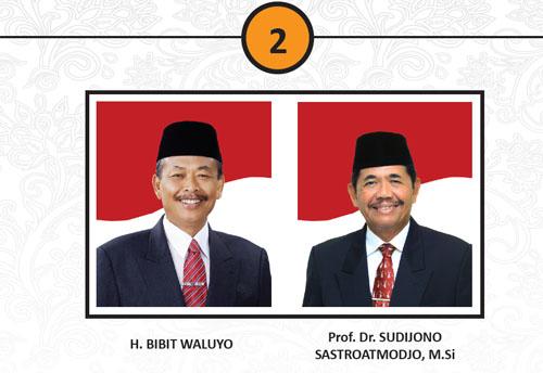 Calon Pasangan Gubernur Dan Wakil Gubernur 2013 No. 2