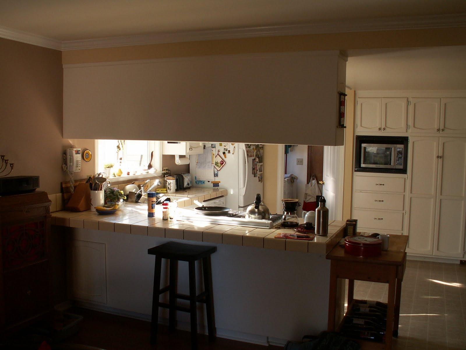 Kitchen Cabinets Over Peninsula