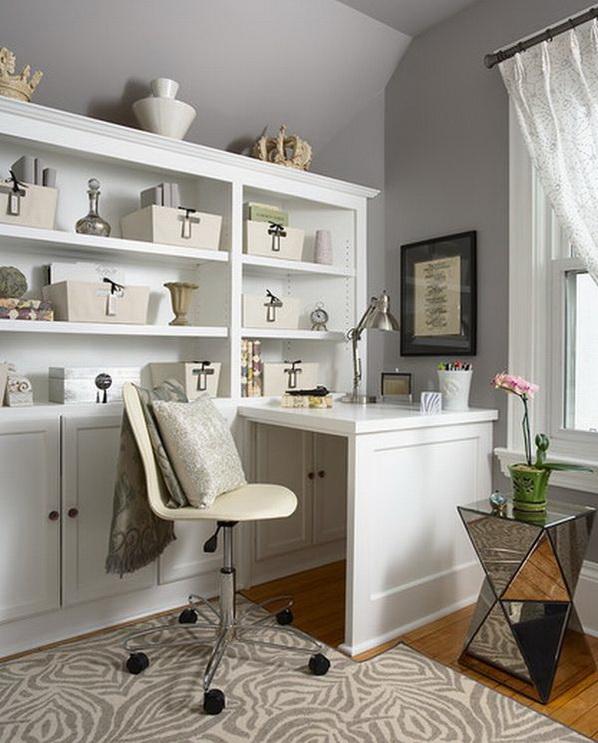 Intelligentes conceptions de bureau domicile pour les - Idee bureau pour petit espace ...