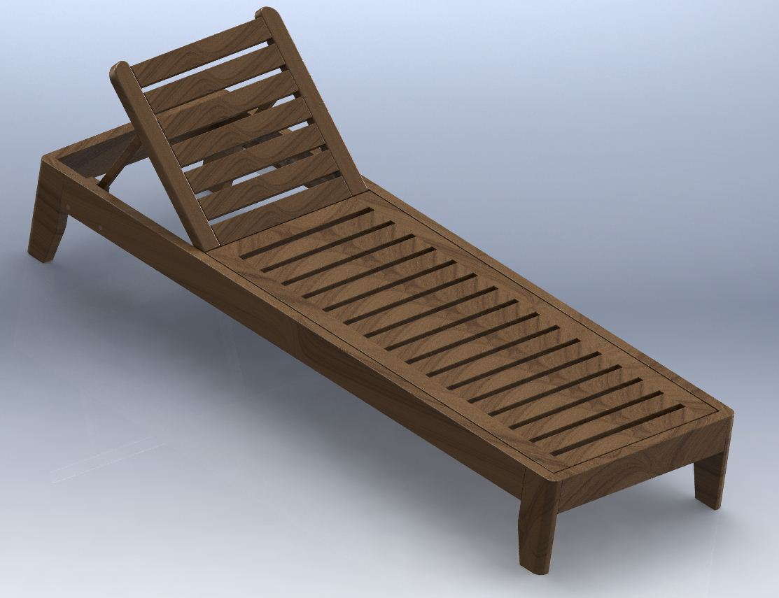 Gpm furniture design for Chaise wooden arms