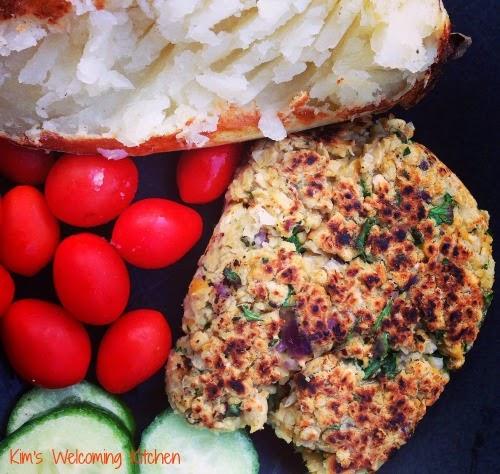 Glutenfree, Nutfree Chickpea Hemp Vegan Burgers
