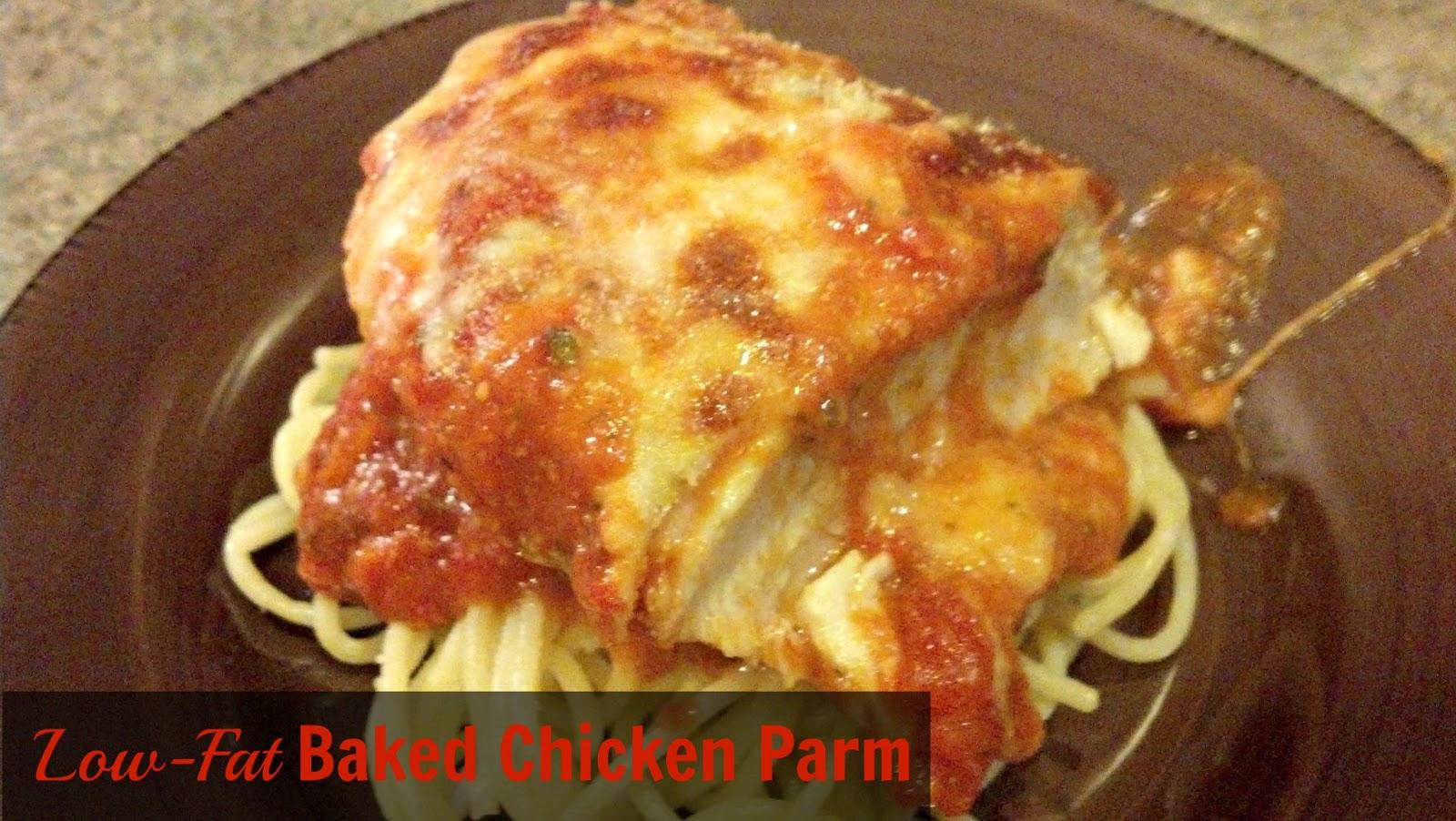 low fat baked chicken parm serves 4 ingredients 4 chicken