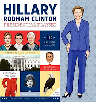 Hillary Rodham Clinton Presidential Playset by Caitlin Kuhwald