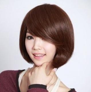 Model rambut pendek wanita modern