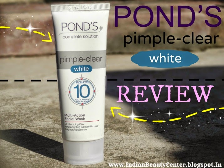 Ponds Pimple Clear White Face Wash Review