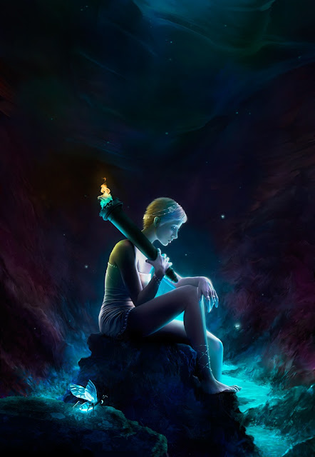 digital art girl,micheal oswald,5 stars