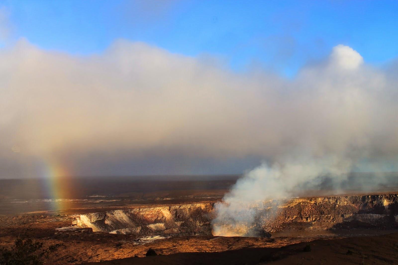big island, hawaii, volcano, kilauea, halemaumau crater