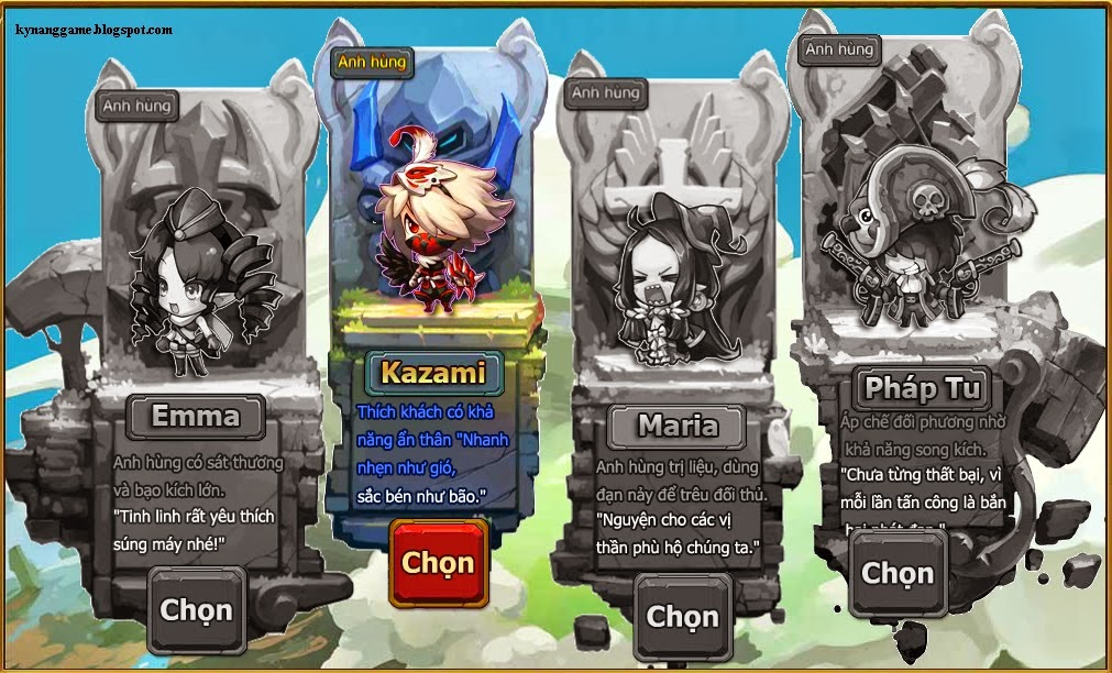 4 skin co ban gunbao