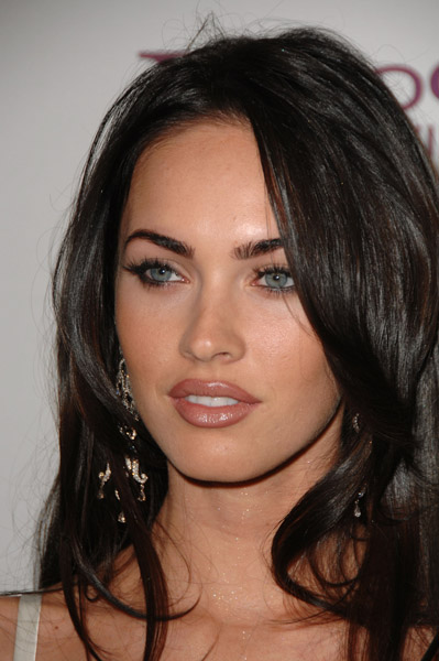 megan fox 2011 plastic surgery. megan fox makeup and hair