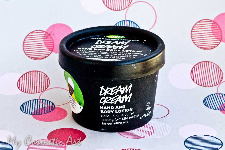 Dream Cream Lush crema hidratante corporal
