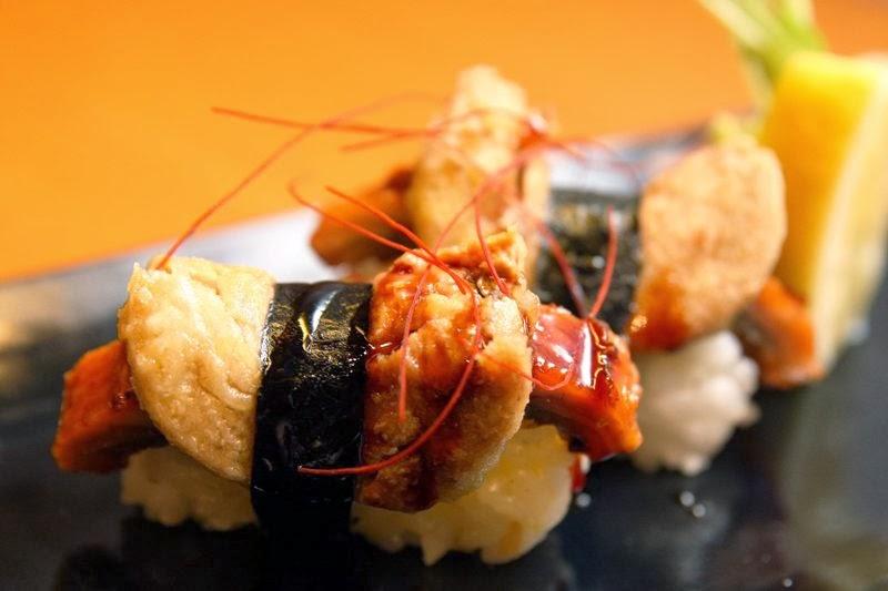 Unagi Foie Gras Sushi Yumi Japanese Restaurant Greenhills
