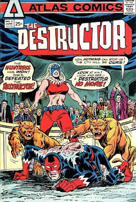 Atlas Comics, The Destructor #3, the Huntress