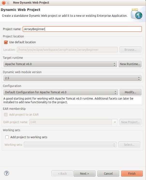Jax Rs Jersey Hello World Beginner Example Java Web Services