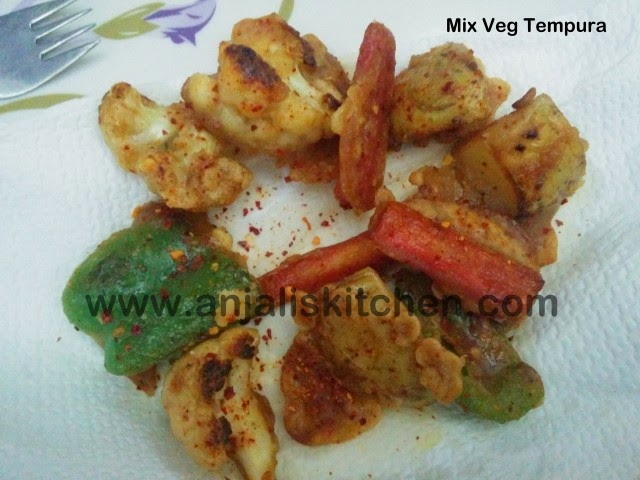 Mix Veg Tempura Recipe!