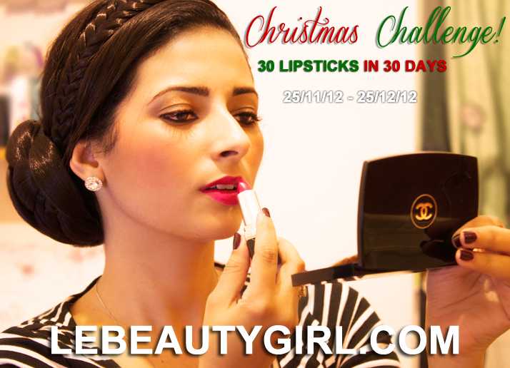 Christmas Challenge: 30 Lipsticks in 30 Days | Le Beauty Girl