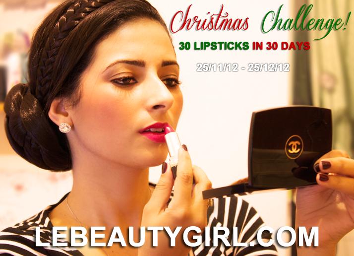 Christmas Challenge: 30 Lipsticks in 30 Days | Le Beauty Girl