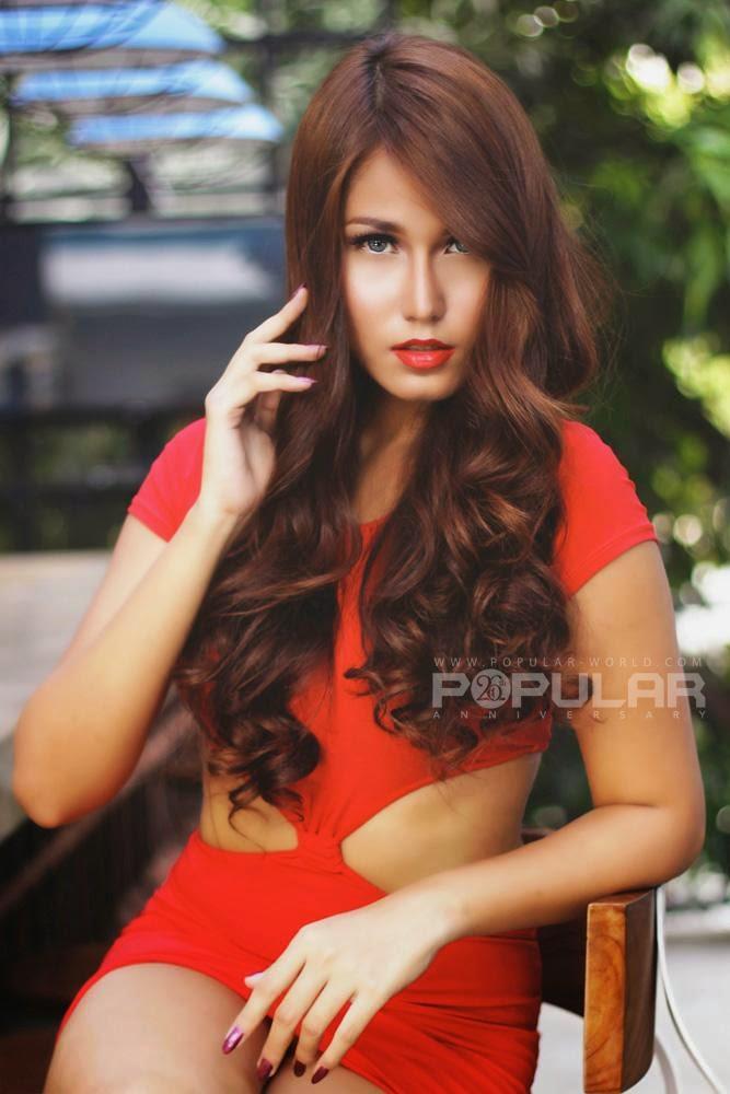 foto seksi model sexy majalah popular