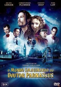 Capa do Filme O Mundo Imaginário do Dr. Parnassus (2009) Torrent Dual Áudio