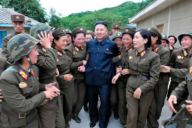 لماذا تبكي النساء دائما عند رؤية زعيم كوريا الشمالية كيم جونج أون ؟؟