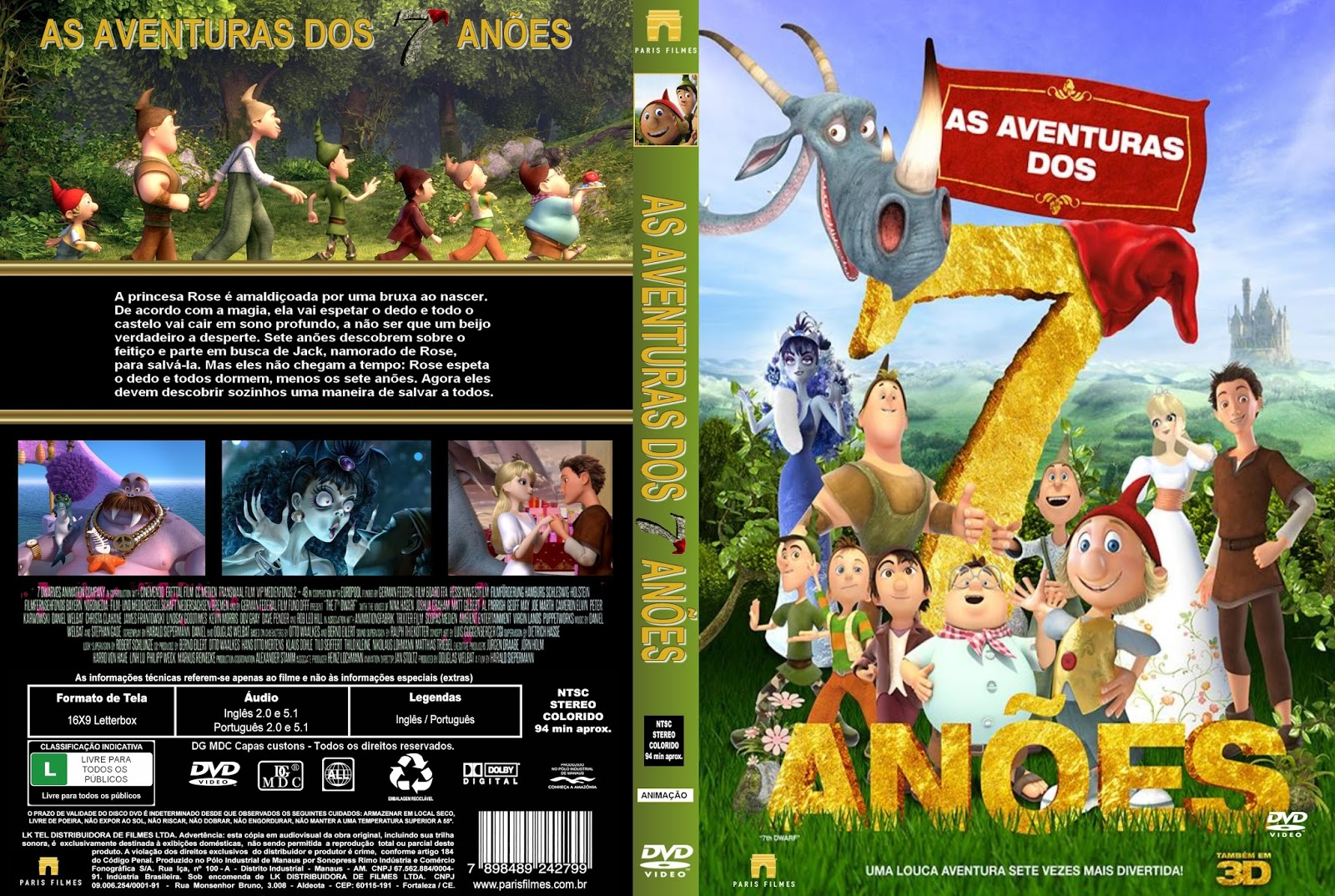 Download As Aventuras Dos 7 Anões DVDRip XviD Dual Áudio As Aventuras Dos Sete An 25C3 25B5es