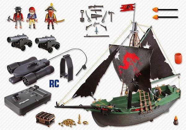 libros y juguetes 1demagiaxfa juguetes playmobil piratas 5238 barco pirata con motor. Black Bedroom Furniture Sets. Home Design Ideas