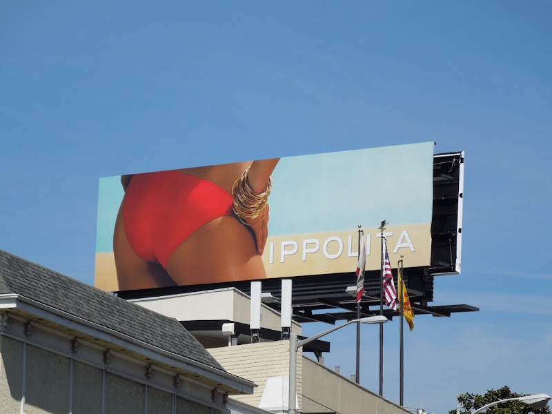 Ippolita jewelry bikini billboard