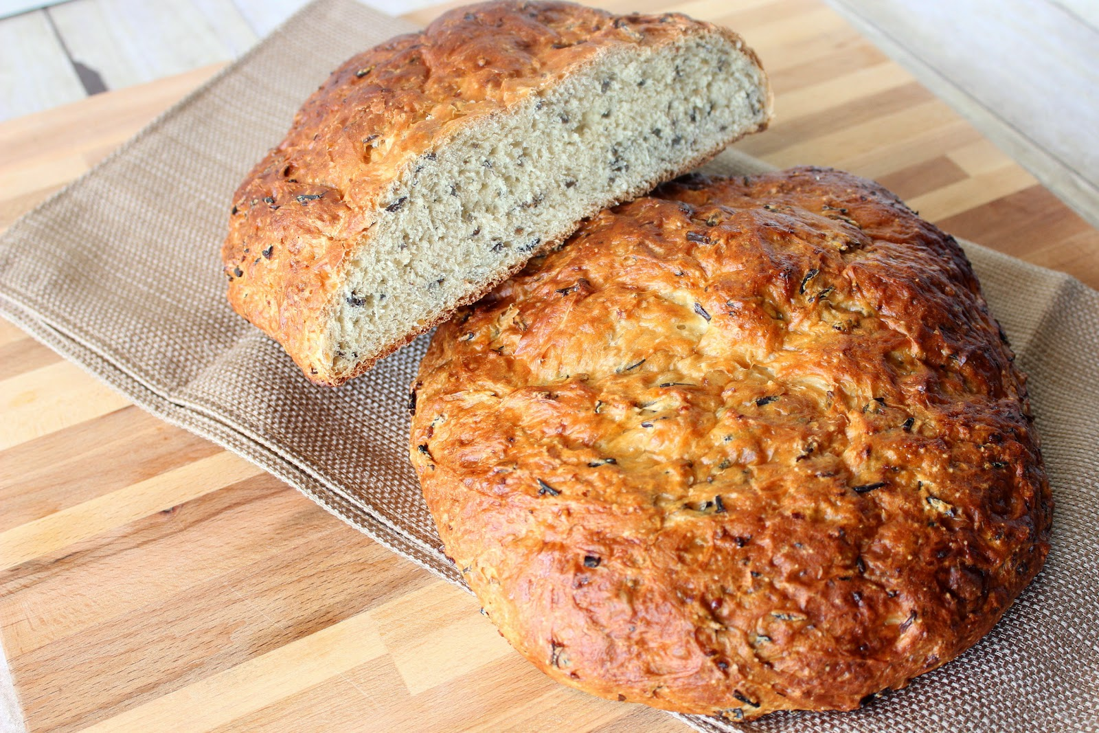 Wild Rice and Onion Bread
