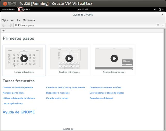DriveMeca instalando Linux Fedora 20