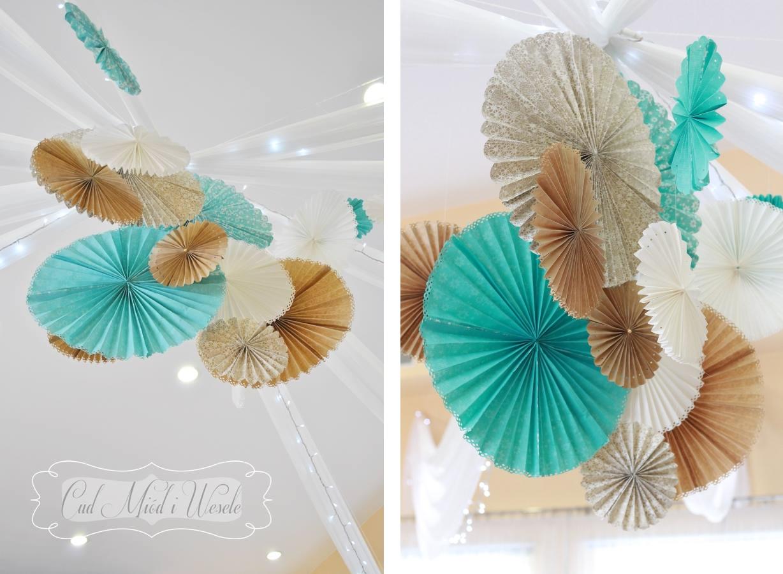 Rozetki dekoracyjne DIY