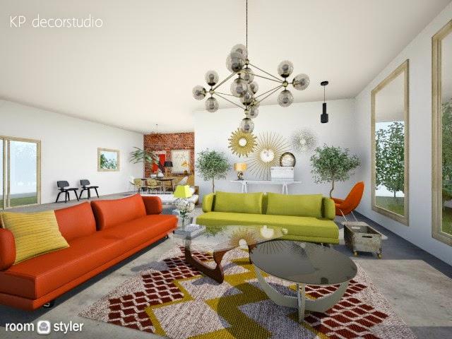 Proyectos de interiorismo vintage online estilo danes